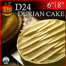 D24 Durian Cakes | 6 and 8 inches | Collection at 12 Locations