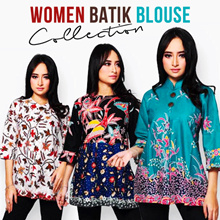 Women Batik Blouse Collections - High Quality Material - Best Price - Fast Shipping