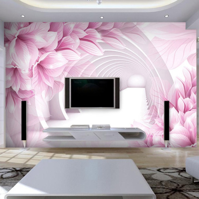Large Living Room Tv Wall Mural Wallpaper Wallpaper Bedroom Modern Three Dimensional Study Of Chines