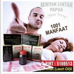 Minyak Lintah Mbah Ireng Papua Original