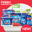 [RB]【Finish】Dishwasher Liquid/Tablets 【Trusted brand for your dishwasher!】