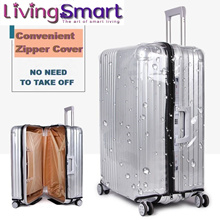 Zipper Transparent PVC Luggage Cover|Waterproof Case Protector|No Need To Take OFF|20 to 30 Inch