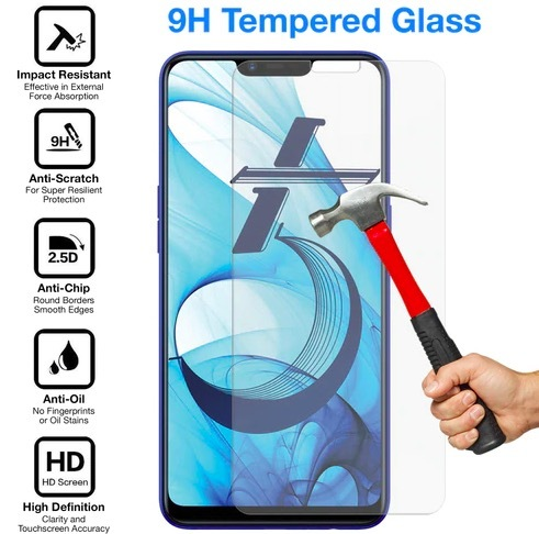 ★ Oppo AX5 / AX5s/ AX7 Phone Tempered Glass Screen Protector