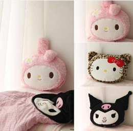 My Melody KUROMI small demon Japanese high quality pure cotton cushion/pillow cotton air conditionin