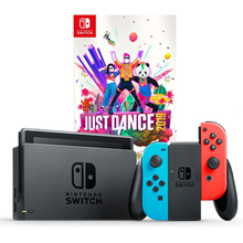 Nintendo Switch Neon Console // Local Warranty // Export Set // Standalone // Just Dance 2019