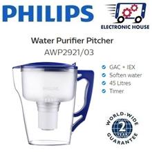 ★ Philips AWP2921/03 Water Purifier Pitcher ★ (2 Years World-Wide Warranty)
