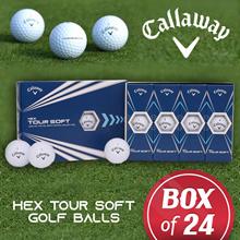 Callaway Hex Tour Soft Golfball 2 Dozen 24balls