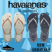 [HAVAIANAS] LADIES★100% ORIGINAL★SLIM OCEANO AND SLIM NAUTICAL