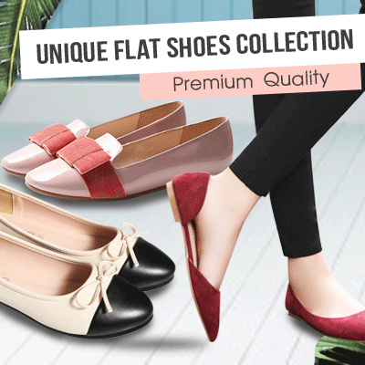 NEW 2017 UNIQUE FLAT SHOES COLLECTIONS 8 STYLES_PREMIUM QUALITY! FREE SHIPPING! sepatu wanita sandaL Deals for only Rp125.000 instead of Rp125.000