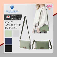 (Blue label crestbridge) Partial CREST BRIDGE CHECK nylon mini bag bag / NEW / 2020 / Japan direct