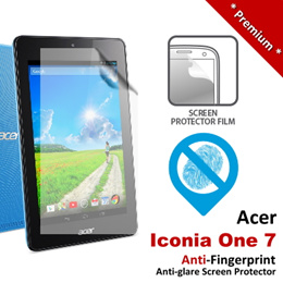 Premium Protection Anti-Fingerprint Matte Acer Iconia One 7 Screen Protector 6 Months Warranty - Free Shipping