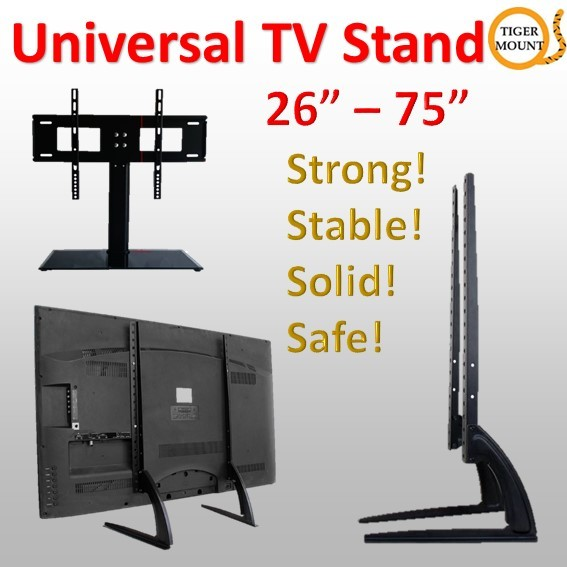 Tiger Mount-Universal TV Table Stand / TV BASE / Wall Bracket Deals for only S$199 instead of S$199