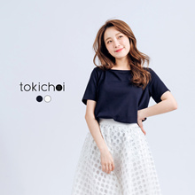 TOKICHOI - Blouse with Ribbon Back Detail-170268