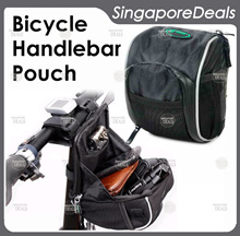 [BZ][J8] Bicycle Handlebar Bag Handle Bar Electric Scooter Bag Electric Scooter Bag with Rain Cover Myway Sheng Te