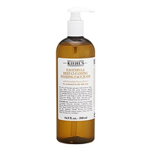 Kiehl sCalendula  Deep Cleansing Foaming Face Wash (For Normal to Oily Skin Types) 16.9oz, 500ml