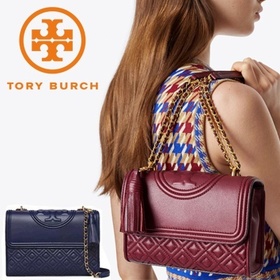 7f6d59216325 Tory Burch Fleming Convertible Shoulder Bag  small   Large Size