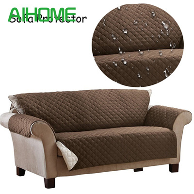 Waterproof Sofa Cover 100 Polyester Anti Skid Dirt Proof Protector Suede Pet Dog Cushion Mat S