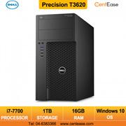 Dell Precision T3620 Mini Tower Commercial Workstation Desktop PC Intel Core i7 Window Pro 10