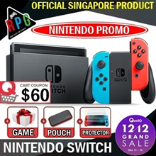 [MAKE $489] Nintendo Switch ConSole Promotion!!! / 1 Year Local Warranty By MaxSoft / Local Set