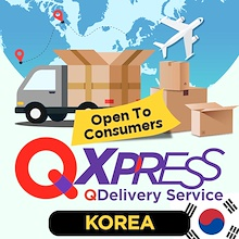 [ Qxpress_KRSG ] Qdelivery Overseas Service. Door to Door Service for Overseas Delivery