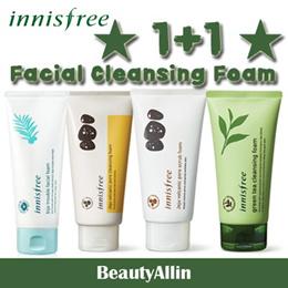 Innisfree - ★ 1+1 Cleansing Foam ★ Jeju Bija Trouble Facial / Jeju Volcanic Pore / Scrub / Green Tea