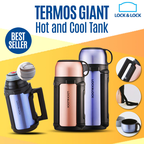 Locknlock Termos Giant Hot and Cool Tank Deals for only Rp390.000 instead of Rp390.000