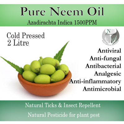 Qoo10 - 2 litre 100% Pure Neem Oil-Recommended for Ticks and