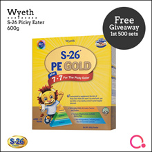 [WYETH] S-26 Picky Eater 600G【FREE GIVEAWAY!】