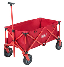 Coleman Coleman Utility Carrier Outdoor Wagon Movable Cart Red