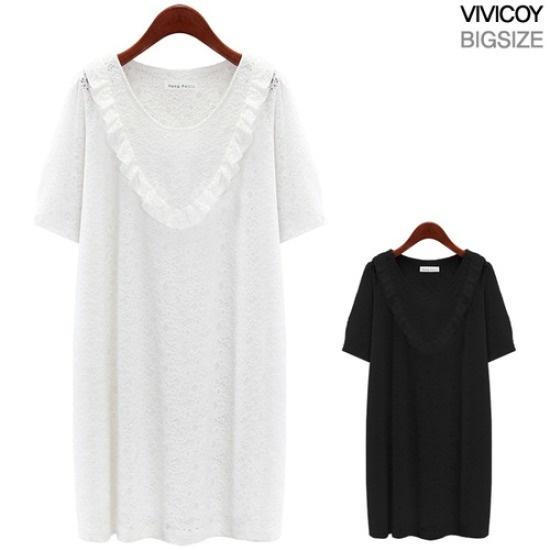 ビビ己斐ガラスワンピースYP 綿ワンピース/ 韓国ファッション