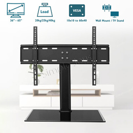 TV Stand Universal Wall Mount On Table Or Console For 26-65 inch VESA