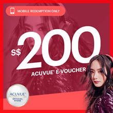 $200 ACUVUE Voucher at Special Price+EyeCheck+Free Laneige 5pc Travel Kit. Best Seller !