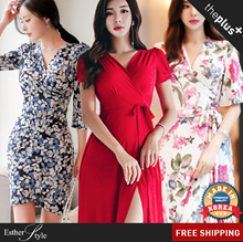 ★Get Qoo10 Coupon $12★ FREE SHIPPING★BESTSELLERS/ Plus size / High Quality Dress