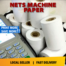 Nets Machine Paper Thermal paper roll for NETS Credit card 57mm X 40mm roll paper