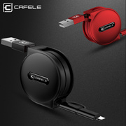 CAFELE NEW 4 Style 100cm retractable USB fast charging Cable For iPhone X 8 7 5s 6s plus micro type-