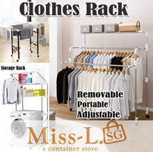 Premium Clothes Rack-laundry rack-adjustable rack/hanger/adjustable/drying rack/storage rack