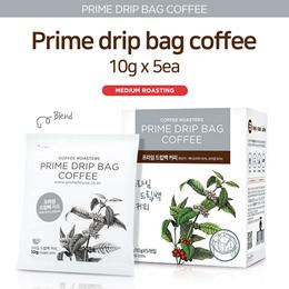 [Primehouse]★Prime Drip Bag Coffee 6Kind★50g/10gx5ea/KENYA/ETHIOPIA/colombia/GUTEMALA/Brazil/Medium Roasting/Hot way/Cold Way/gg_067