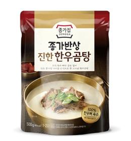 JONGGA Korean beef bone soup Gom-tang 300g K-FOOD