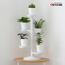 White Mini Garden★Plant Display Stand★Movable Flowers Pot Flowerpot rack/Home Gardening Garden