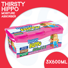 [RB] Thirsty Hippo Dehumidifier 600ml 3p