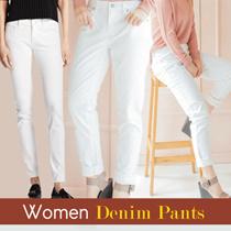 [COUP S4] WOMEN DENIM LONG/SHORT PANTS