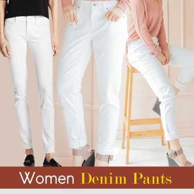 [COUP S4] WOMEN DENIM LONG/SHORT PANTS Deals for only Rp32.000 instead of Rp32.000