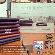 [Authentic] Bellroy Minimalistic Slim Men Leather Wallet Travel Birthday Anniversary