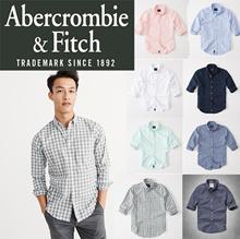 [Abercromble n Fitch] Icon Oxford Shirt / Long Sleeve Business Shirts/Cotton Men Shirts/Slim Cut