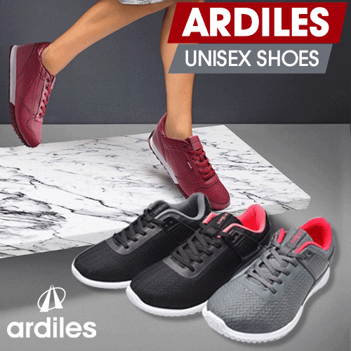 [BEST RUNNING SHOES] ?ARDILES? Unisex Shoes Special Launching Promo Running Shoes | BEST PRICE Deals for only Rp129.700 instead of Rp129.700