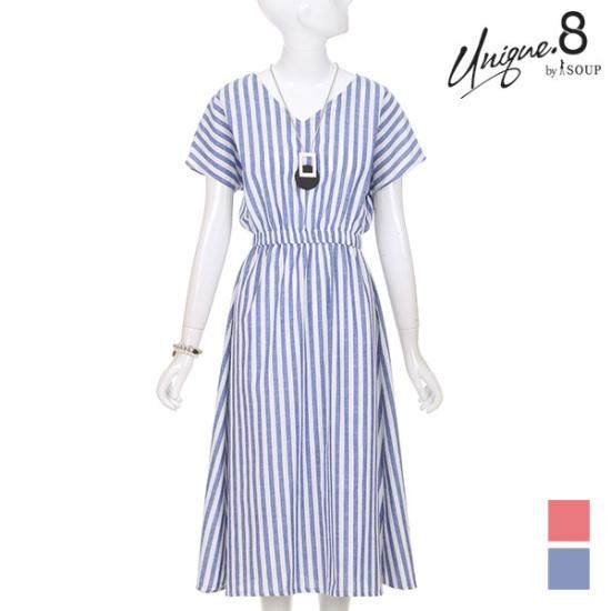 森SOUPイブSTVネクロングワンピースSTGOP19 面ワンピース/ 韓国ファッション