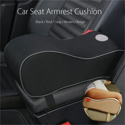 Qoo10 Universal Car Armrest Seat Center Console Cover Cushion Arm