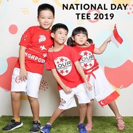 ★2019 NDP SET TEE ★★ Unisex/Kidswear/NDP/Tops/Casual/Blouse/Shirt/SG seller