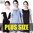 【26/3 NEW ARRIVALS】600+ style S-7XL NEW PLUS SIZE FASHION LADY DRESS OL work dress blouse TOP