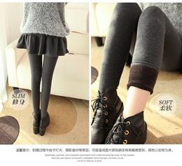 D Skirt Leggings/women winter leggings/plus size thermal wear/-15degree keep warm/winter inner wea